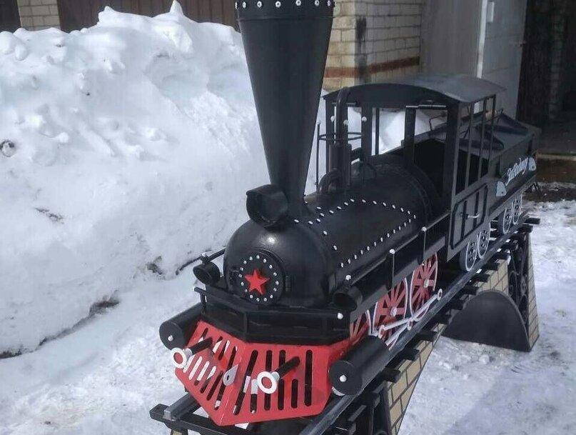 5a810c78cd - Отличная идея мангал — паровоз!