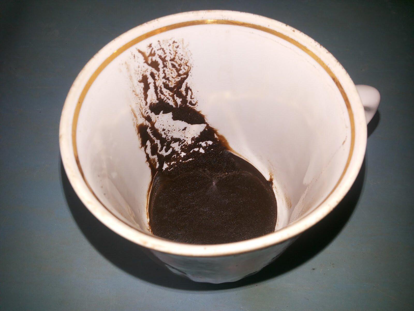 как картинки в чашке от гадания на кофейной гуще приобретения