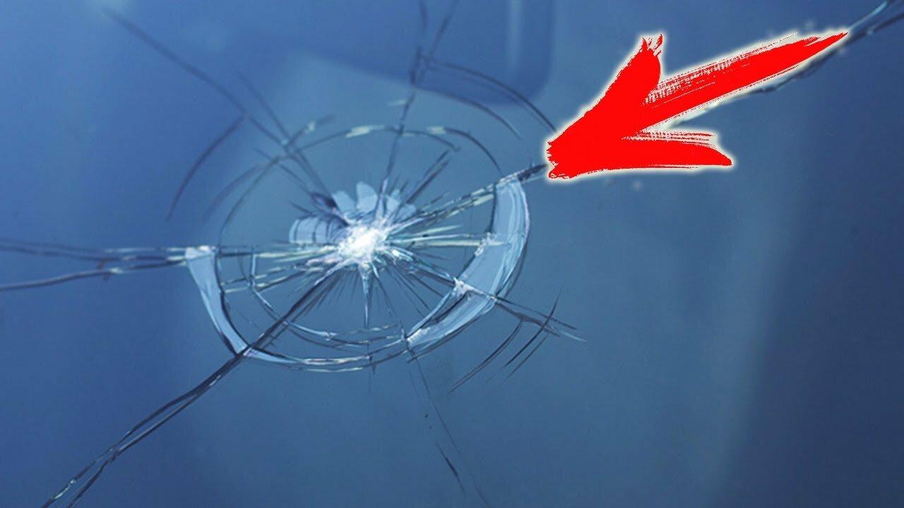 1111 2 - Лечим скол на лобовом стекле, интересный способ