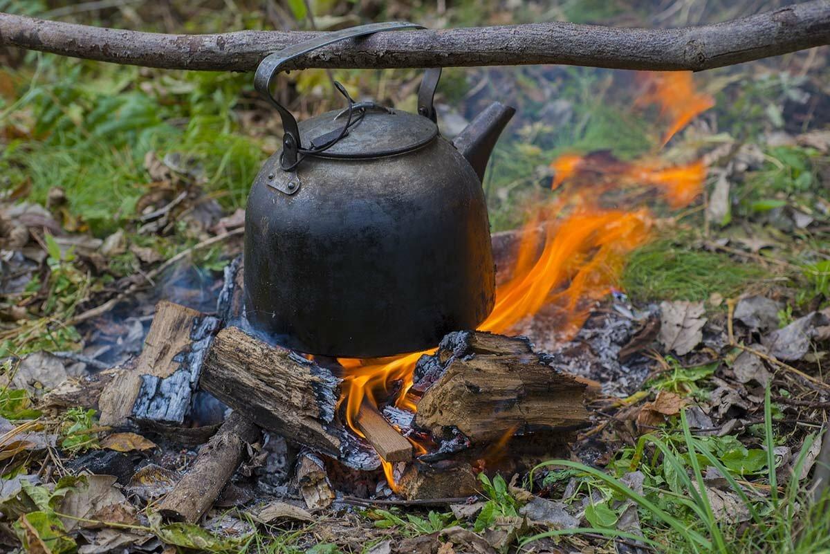 15 5 - Как приготовить вкусные напитки на костре