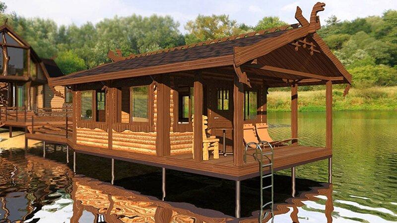 svaya 52 - Выбор напольного покрытия для дома на винтовых сваях